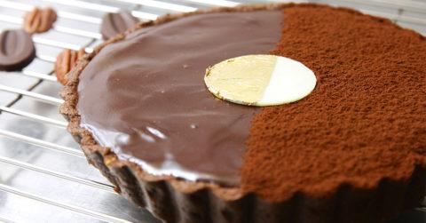 法芙娜生巧克力塔 - iSweets 愛甜食